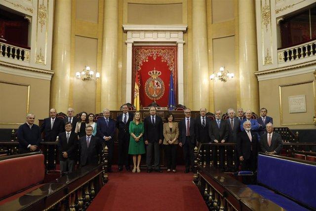 Reunión del Pleno del Consejo Asesor de la conmemoración del 40 aniversario de l