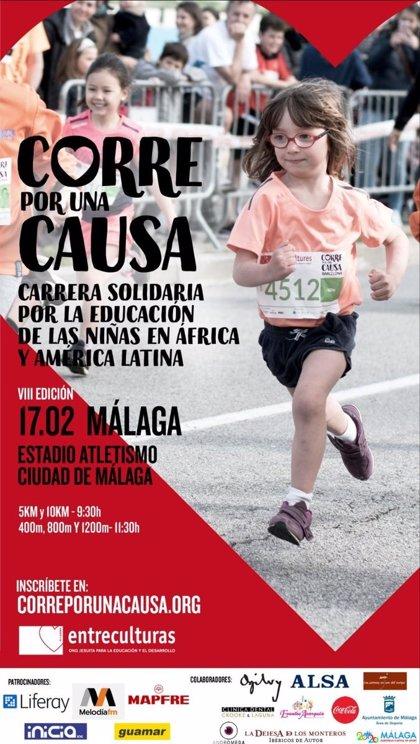 Málaga correrá por la educación de las niñas en África y América Latina el 17 de febrero