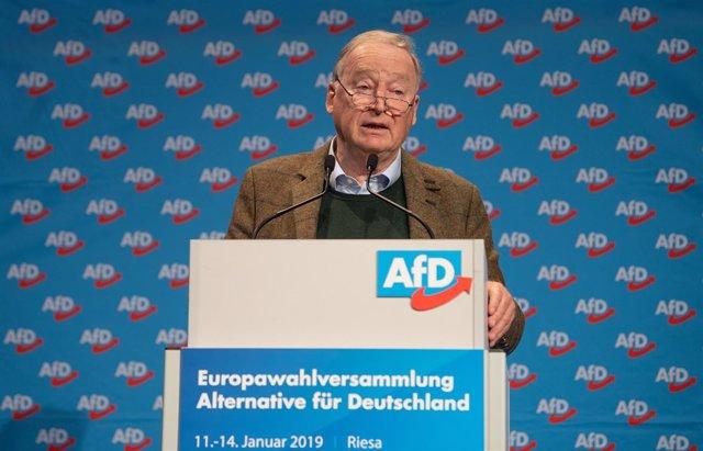 Alexander Gauland, líder de AfD