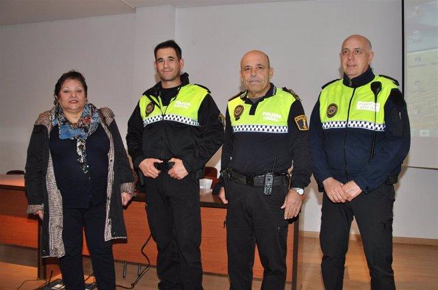 Taller de la Policía Local para actuar ante complicaciones de la diabetes