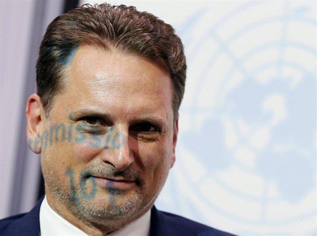 Pierre Krahenbuhl, Comisionado General De La UNRWA