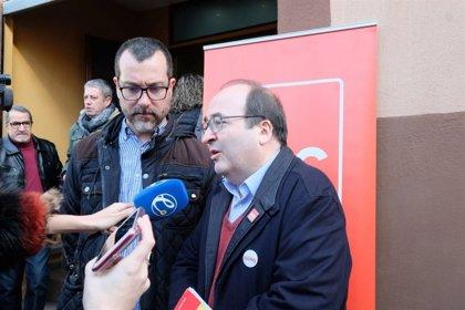 """Iceta (PSC) acusa PP i Cs de """"donar aire"""" a Vox amb el seu discurs contra l'autogovern català"""