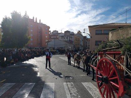 Valls viu un dels Tres Tombs més matiners del calendari català