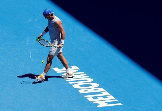 El tenista español Rafa Nadal