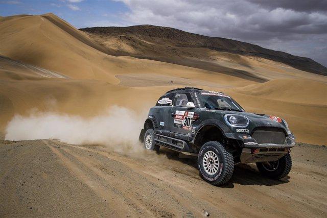Joan Roma durante el Dakar 2019