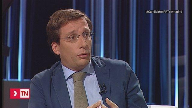 José Luis Martínez Almeida en Telelemadrid