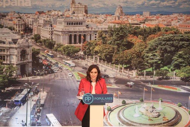 Presentación de los candidatos del PP de Madrid a las elecciones locales y auton