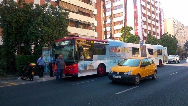 Autobús de la Línea Este de Tussam.