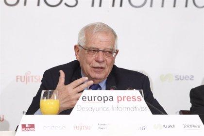 Borrell admite que podrían prorrogarse los plazos del Brexit pero cree que el límite serán las elecciones europeas