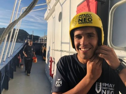 Ulises, un argentino que llegó al País Vasco para convertir un atunero en un barco de rescate de refugiados