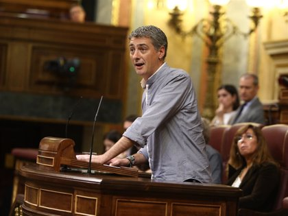 """EH Bildu insta al Gobierno de Sánchez a """"sentarse a hablar"""" y explicar sus medidas frente a la """"involución democrática"""""""