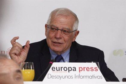 Borrell no es descarta per encapçalar la llista del PSOE a les europees