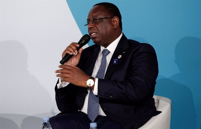 Macky Sall, presidente de Senegal