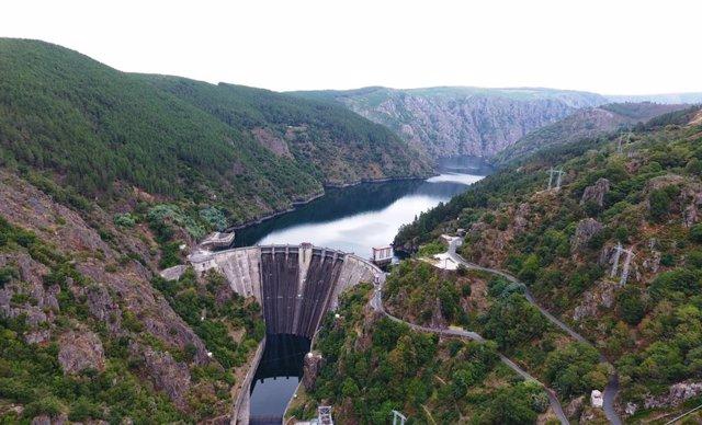 Presa de Iberdrola en Galicia