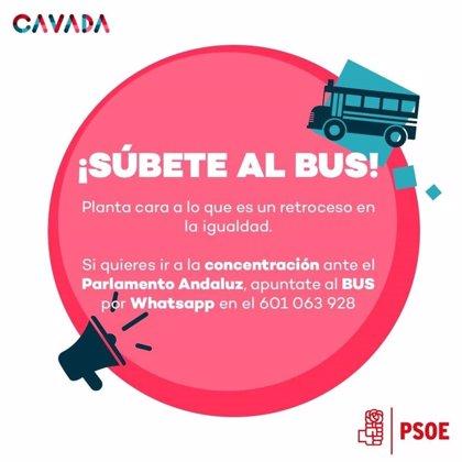 PP denuncia que el PSOE aliente a manifestarse ante la investidura de Moreno: Los escraches no impedirán el cambio