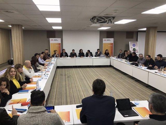 Reunión de la Ejecutiva de ERC en Ginebra (Suiza).