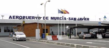 El Aeropuerto de San Javier cierra el año 2018 con más de 1.270.000 millones de pasajeros, un 6,4% más