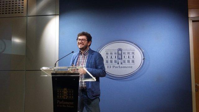 Alberto Jarabo, portavoz de Podemos