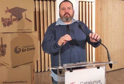 CatComú pide a Sánchez centrarse en ERC y PDeCAT para los Presupuestos en vez de Cs y PP
