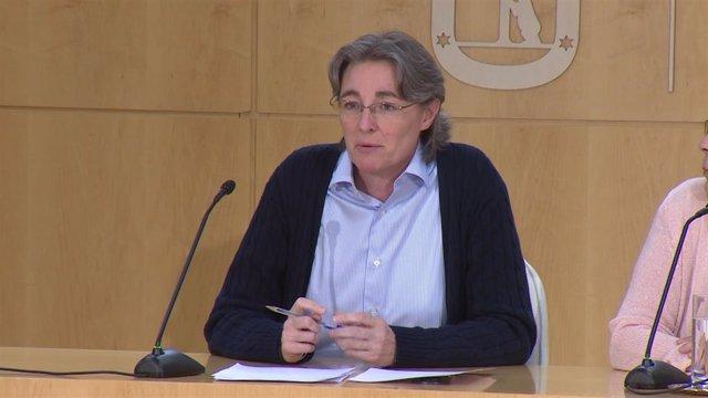 Marta Higueras, Inés Sabanés,José Manuel Calvo En Rueda De Prensa