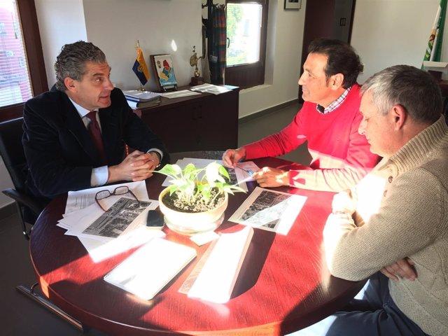 El coordinador de la AGE, en el Campo de Gibraltar José Medina