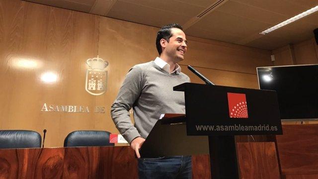 El portavoz de Cs en Madrid, Ignacio Aguado