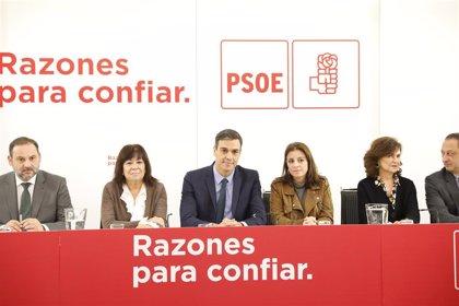 """Calvo, sobre el futuro político de Susana Díaz: """"El PSOE en toda España ahora sólo está"""" en las elecciones de mayo"""