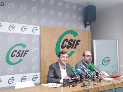 """CSIF confía en el """"diálogo y negociación"""" de los grupos políticos para que se aprueben los presupuestos de Extremadura"""