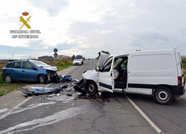 Accidente con heridos