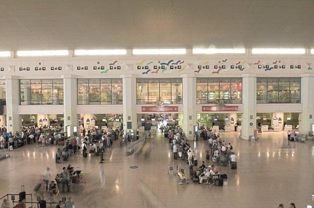 Imagen del aeropuerto de Málaga.