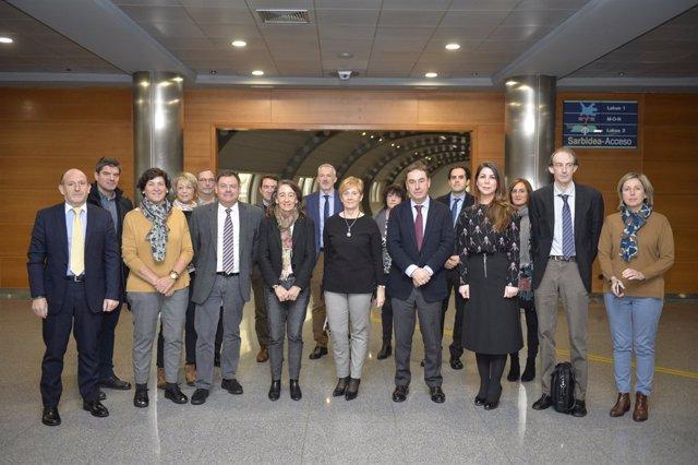 Euskadiko Garraio Agintaritzako kideak
