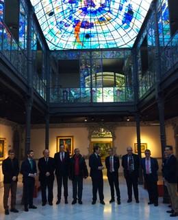 Reunión del Patronato del Museo Casa Lis de Salamanca. 14-1-2019