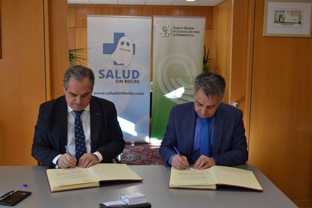 Acuerdo entre los Farmacéuticos y '#SaludsinBulos'