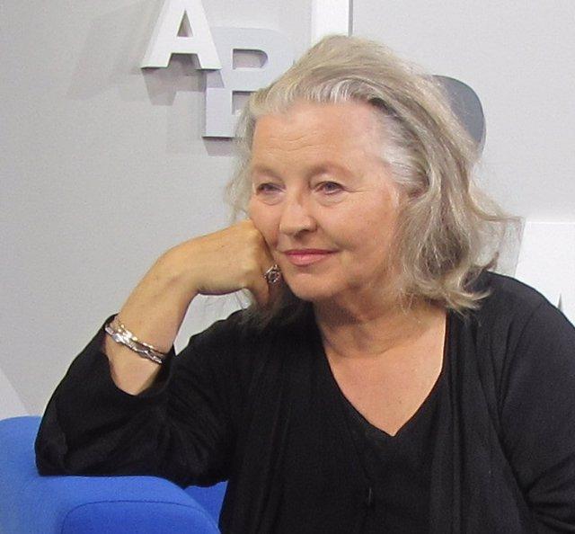 L'actriu i cantant alemanya Hanna Schygulla