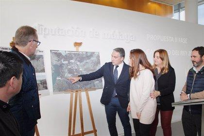 La Diputación proyecta la ampliación del Caminito del Rey con tres nuevos senderos