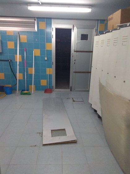 El Ayuntamiento de Jaén hace un llamamiento para identificar a los autores de los destrozos en Las Fuentezuelas