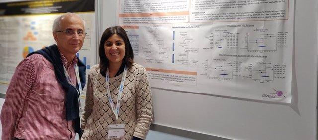 Laura Ruiz- Campos y Fernando Fernández Bañares durante presentación del estudio