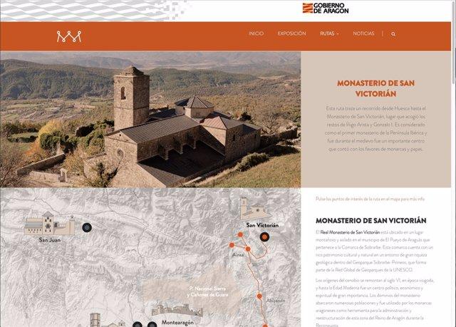 En la web se pueden encontrar rutas para conocer los panteones