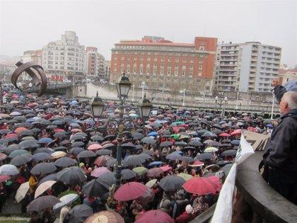 """Pensionistas de Bizkaia llaman a """"seguir en la calle"""" porque en un año de movilizaciones solo han conseguido """"migajas"""""""