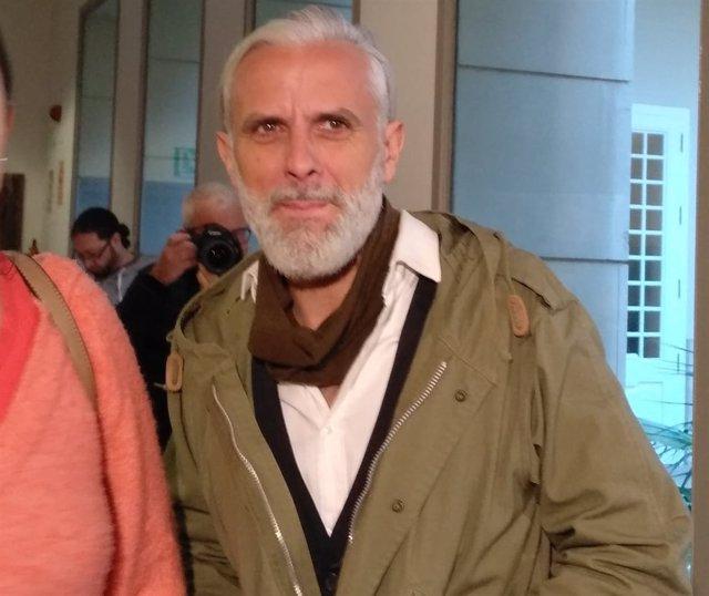 Marcos Benavent, autodenominado 'yonki del dinero' en Les Corts