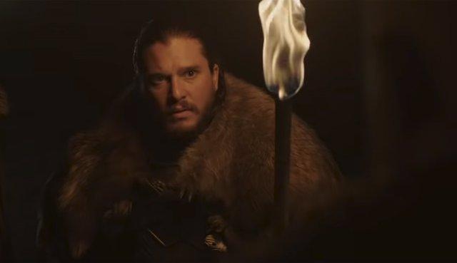 Jon Snow en Juego de tronos (Game of Thrones)