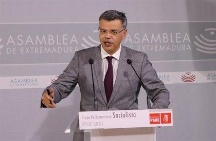 """El PSOE de Extremadura califica de """"sociales"""" los PGE para 2019, ya que """"benefician directamente a 400.000 extremeños"""""""