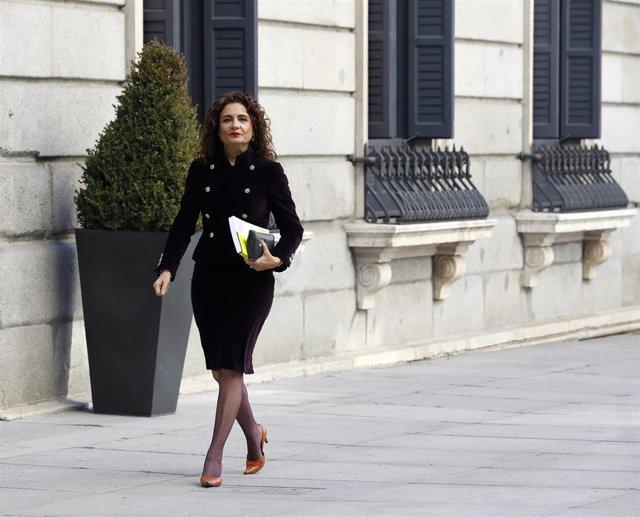 María Jesús Montero lleva al Congreso los Presupuestos Generales del Estado