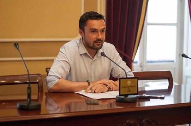 El concejal del Ayuntamiento de Cádiz, Martín Vila