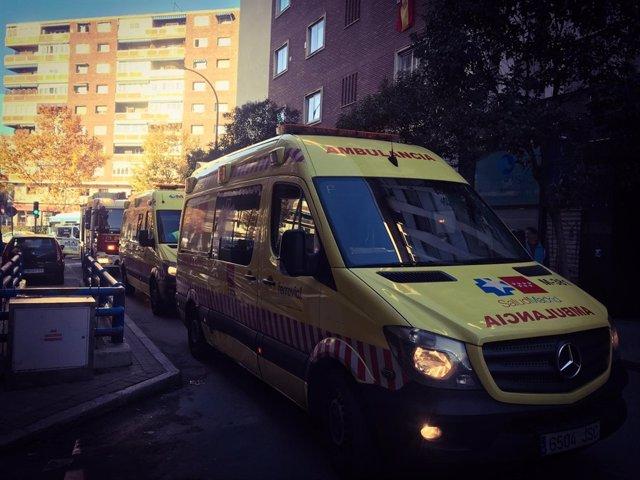 Accidente laboral en Madrid