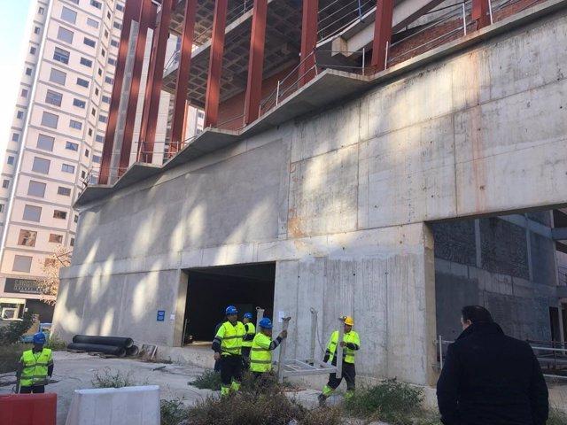 Arrancan los trabajos para finalizar el Centro Cultural de Benidorm