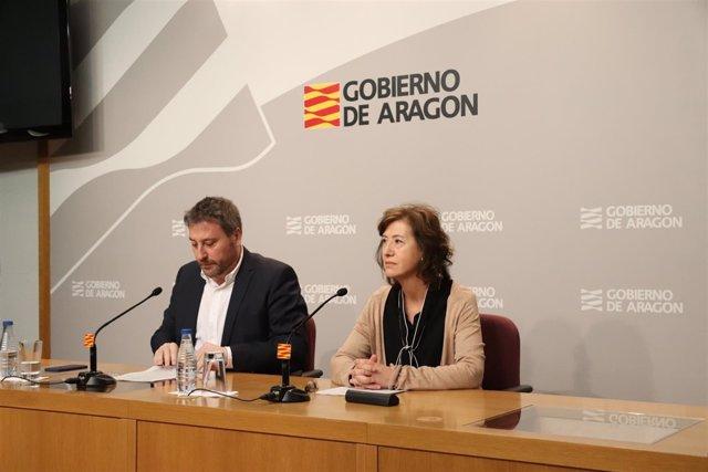 Presentación del estand de Aragón en FITUR