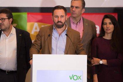 Interior estudia una petición de Vox del 21 de diciembre para aumentar la protección de sus sedes y dirigentes