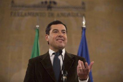 Moreno afronta el debate de investidura para convertirse en el primer presidente andaluz no socialista
