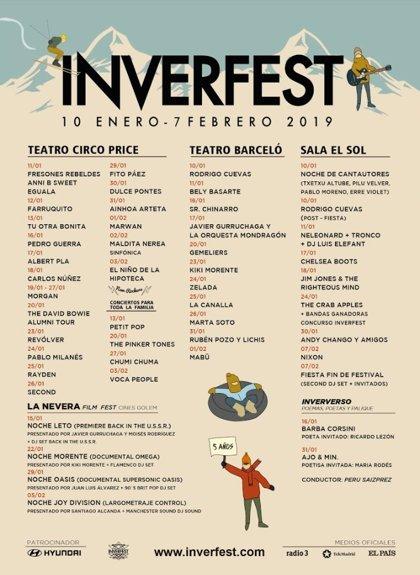 Inverfest 2019: Mejor en invierno que en verano